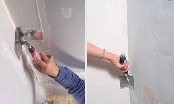 Шпаклюем стену своими руками
