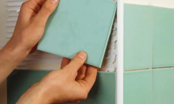 Как сделать уголок из плитки